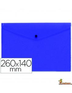 Carpeta Sobre 260 x 140 mm 180µ Azul