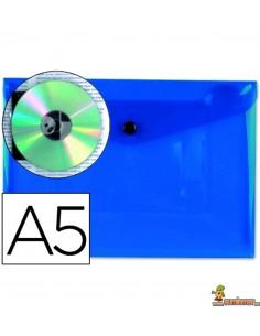 Carpeta Sobre A5 180µ Azul