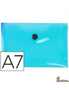 Carpeta Sobre A7 180µ Azul