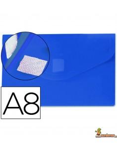 Carpeta Sobre A8 180 micras Azul