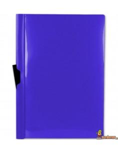 Carpeta con pinza lateral DIN A4 60 hojas Azul