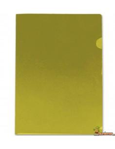 Carpeta dossier con uñero DIN A4 Amarillo