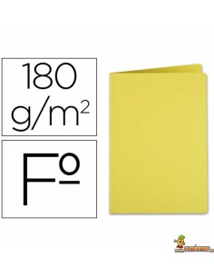 Subcarpeta tamaño folio Amarillo