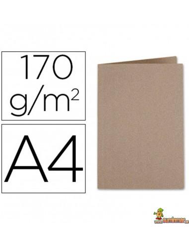 Subcarpeta DIN A4 cartulina Kraft