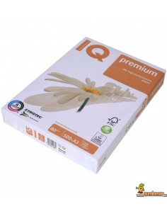 IQ Premiun A4 80g 500 hojas