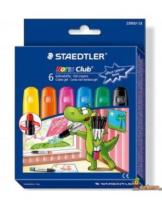 Ceras con textura de gel Staedtler Colores Básicos para pizarra, cristal