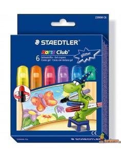 Ceras con textura de gel Staedtler Colores Brillantes para pizarra, cristal