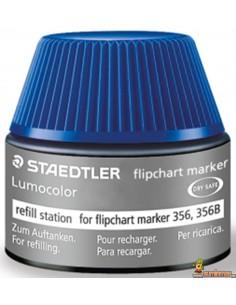 Recarga para Marcadores Flipchart Lumocolor 356. 30 ml. Staedtler