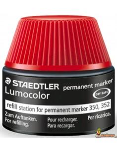 Recarga para marcadores Lumocolor 350 y 352. 30 ml. Staedtler