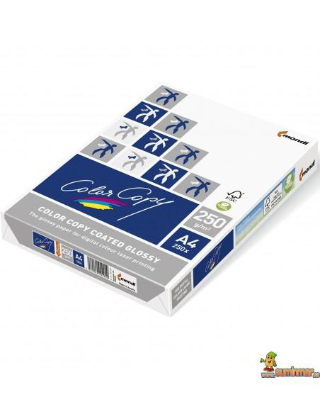 Color Copy Glossy A4 250g 250 hojas Papel Multifunción
