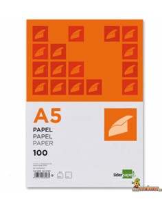 Papel A5 80g 100 hojas