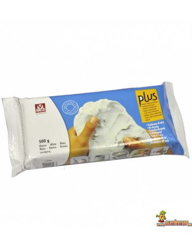 Arcilla Sio-2 Plus 500 g color blanco