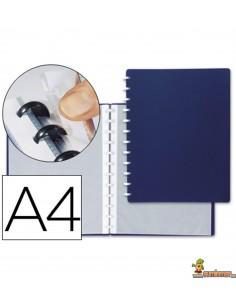 Carpeta escaparate con fundas extraíbles DIN A4 20 fundas