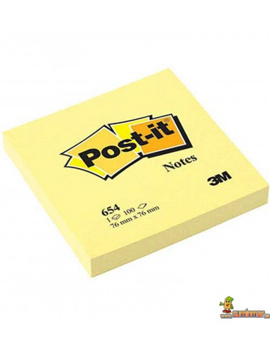 Notas Adhesivas Post-it 76x76mm 100 hojas