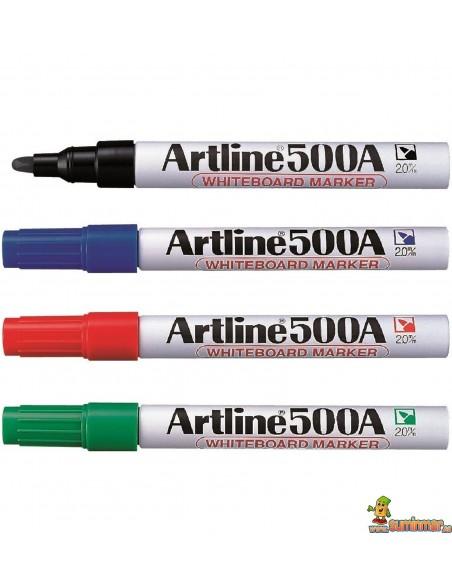 Artline 500A Rotulador para pizarra blanca Recargable