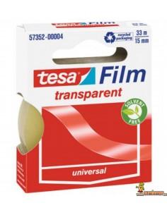 Cinta Adhesiva Tesa Film Transparente 15 mm
