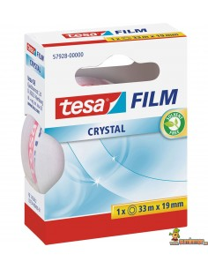Cinta Adhesiva Tesa Film Crystal 33 m x 19 mm
