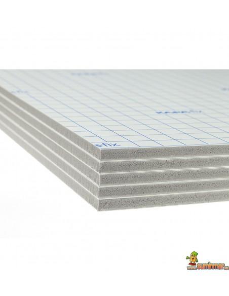 Cartón Pluma Adhesivo. 5 mm