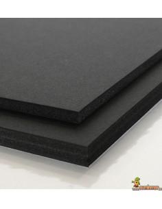 Cartón Pluma. 5 mm. Negro. Liderpapel