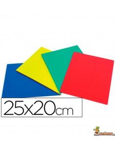 Caucho de color 25x20cm 4 mm