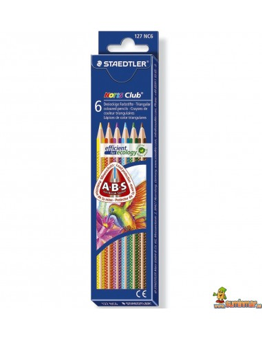 Staedtler Noris Club 6 Lápices de Colores
