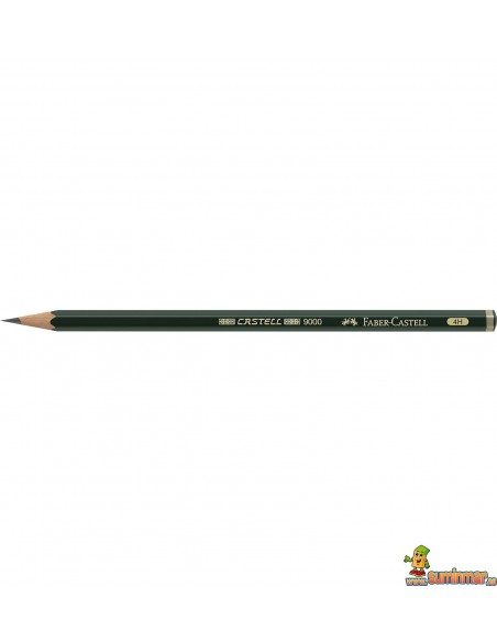 Lápiz Faber-Castell 9000 para dibujo