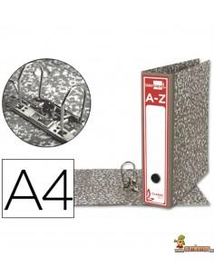 Archivador DIN A4 lomo 80mm gris clásico
