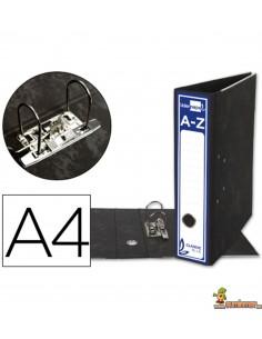 Archivador DIN A4 lomo 80mm negro clásico