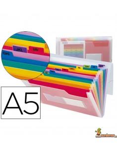 Carpeta Clasificadora tipo acordeón DIN A5