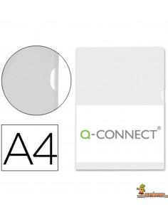 Carpeta dossier DIN A4 con cierre inferior Transparente