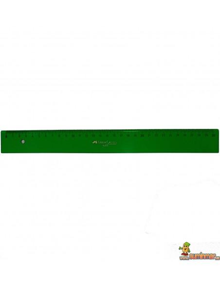 Regla Faber Castell milimetrada. Varias medidas