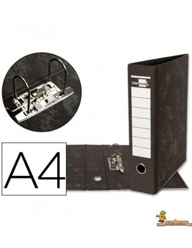Archivador DIN A4 lomo 80mm negro