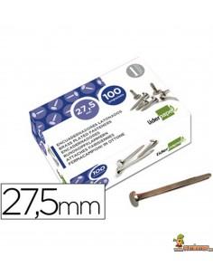 Encuadernador latonado cabeza redonda 27.5 mm