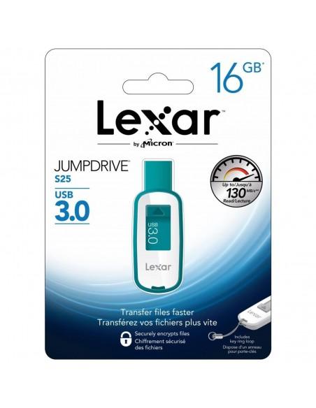 Pendrive Lexar JumpDrive S25 16GB USB 3.0 LJDS25-16GABEU