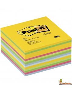 Notas Adhesivas Post-it 76x76mm 450 hojas Amarillo