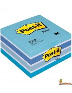 Notas Adhesivas Post-it 76x76mm 450 hojas Azul Pastel