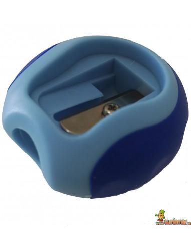 Sacapuntas LYRA Groove 1 agujero azul claro