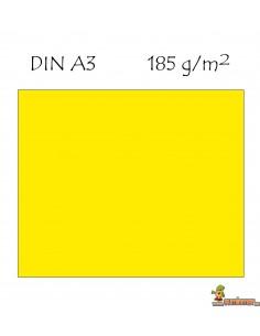 Cartulina DIN A3 Canson amarillo neón