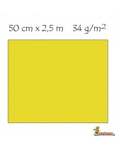 Papel crespón pliego 50 x 250 cm Amarillo neón