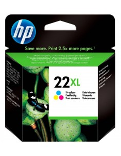 HP 21XL Negro. Cartucho de tinta original HP