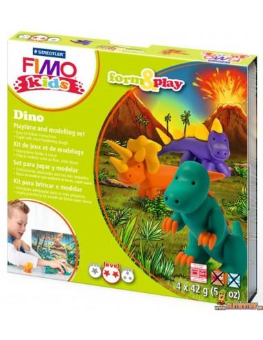 Set de Dinosaurios para modelar