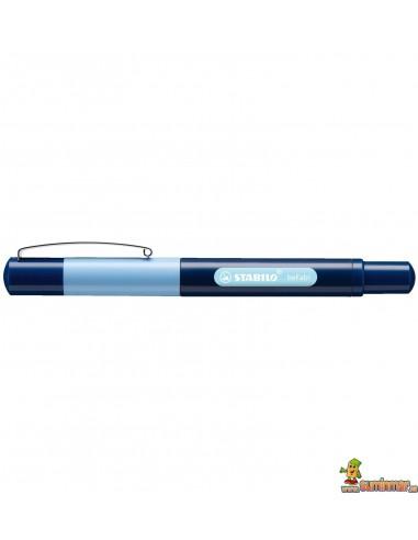Pluma Stabilo beFab! - Duocolors Azul claro