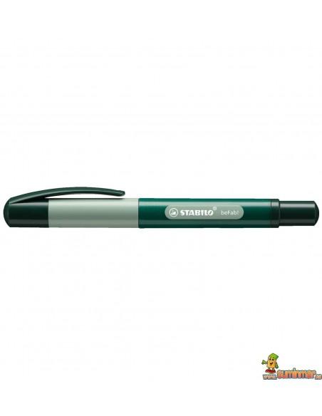 Roller Stabilo beFab! - Duocolors Verde pastel