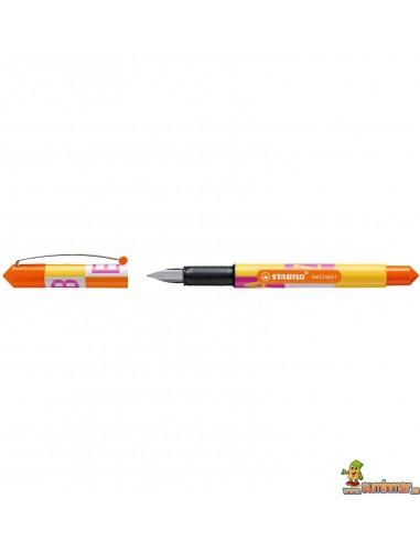 Pluma Stabilo beCrazy! - TYPE amarillo limón