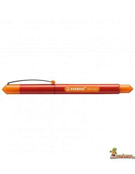 Pluma Stabilo beCrazy! - Duocolors rojo