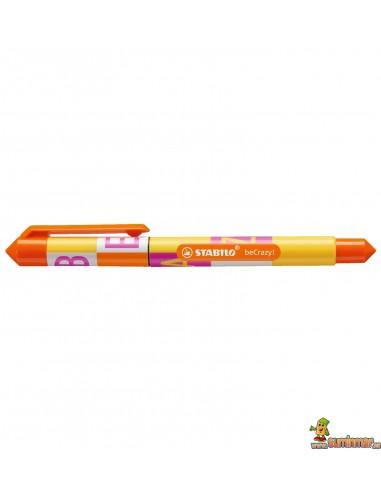 Roller Stabilo beCrazy! - Type amarillo limón