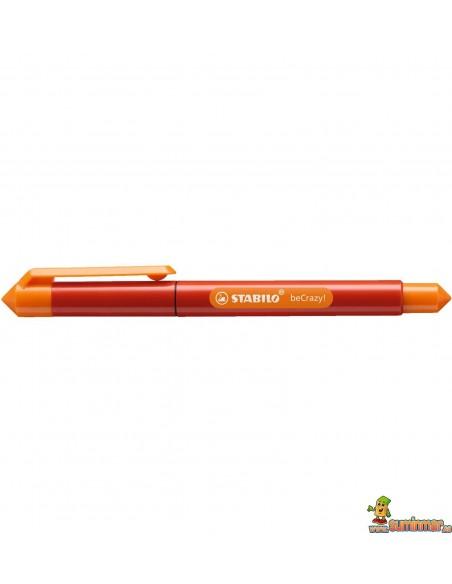 Roller Stabilo beCrazy! - Duocolors Rojo