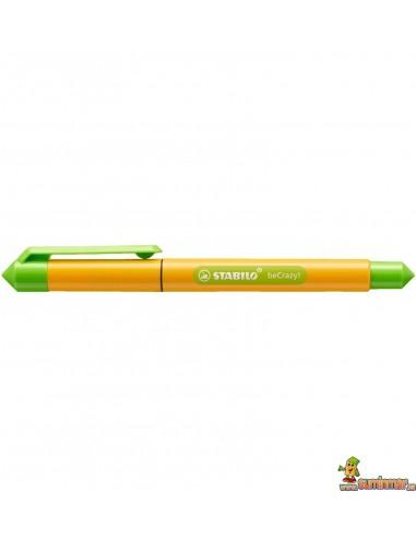 Roller Stabilo beCrazy! - Duocolors Amarillo Soleado
