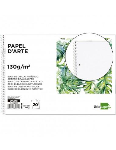 Bloc de dibujo 230x325mm 130 g/m² 20 hojas sin recuadrar