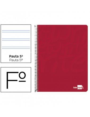Cuaderno Folio 2 rayas 2,5mm 80 hojas...